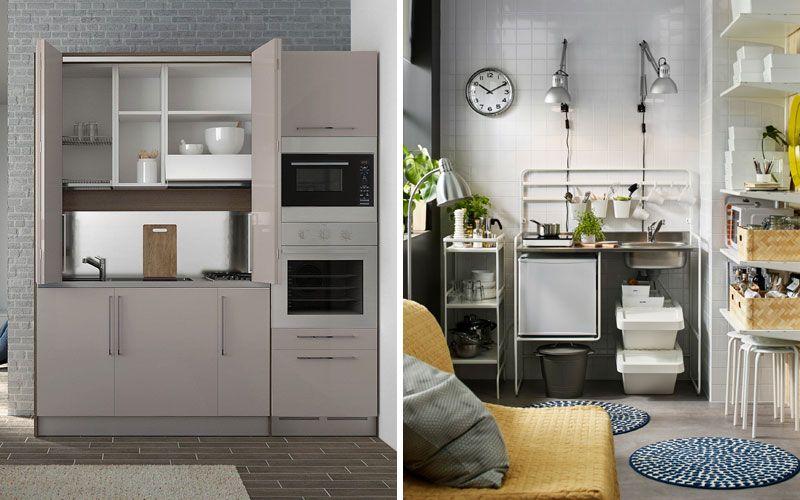 Мини-кухня встроенная в шкаф