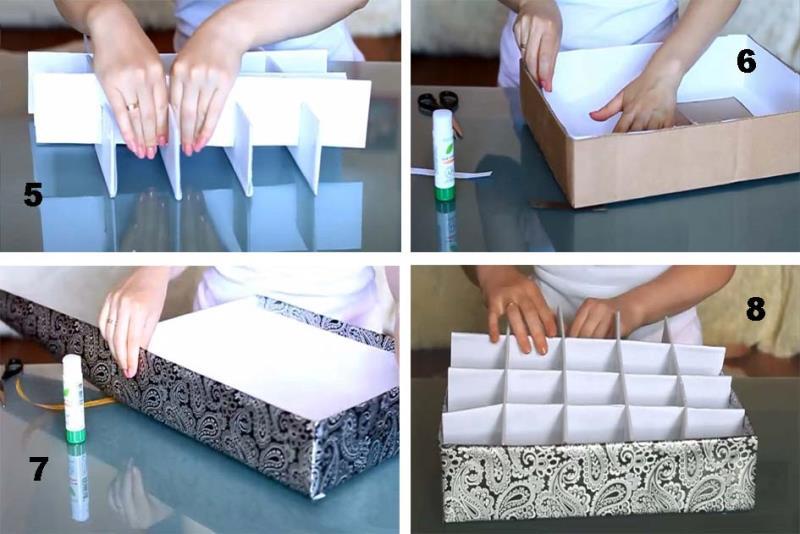 Коробка для хранения - декор своими руками