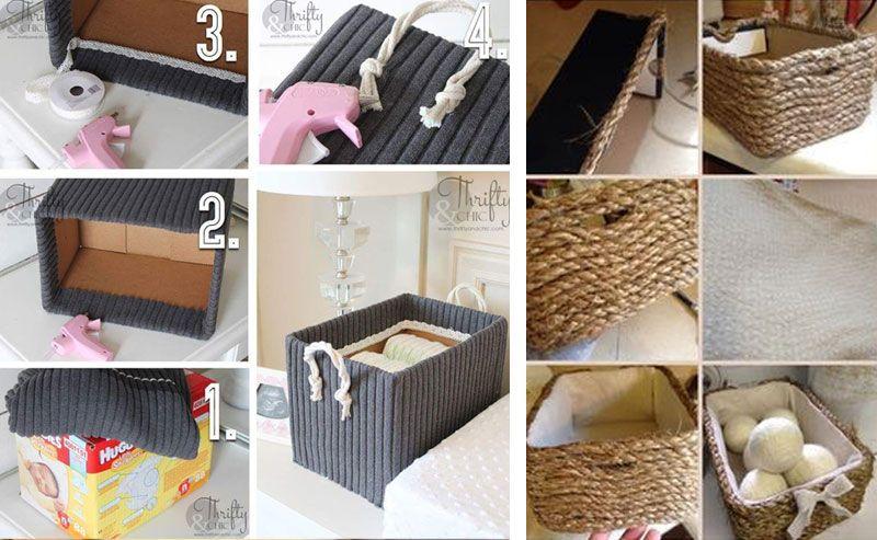 Декор коробки для хранения своими руками: мастер-классы с фото
