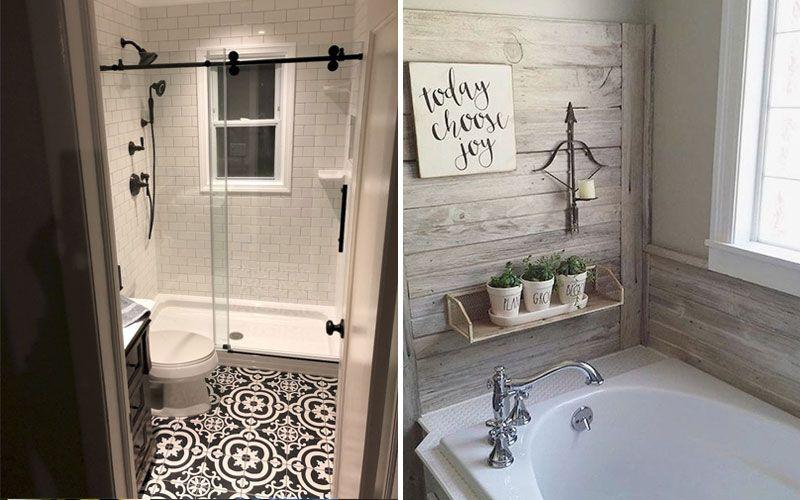 Современный интерьер ванной комнаты с окном: дизайн, планировка, фото