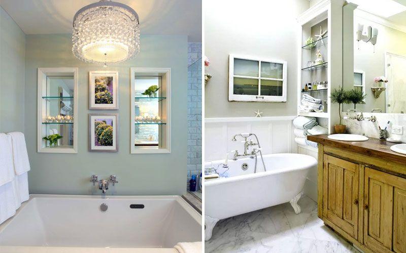 Фальш-окно в ванной