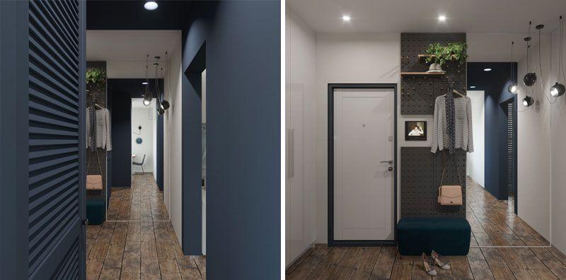 Однокомнатная квартира 38 метров, дизайн проект