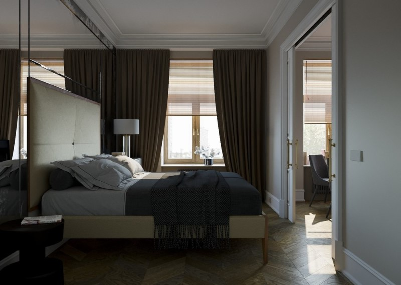 """Проект однокомнатной квартиры """"Red Room"""""""