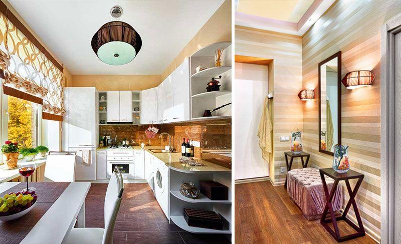 Дизайн однокомнатной квартиры 38 метров после перепланировки