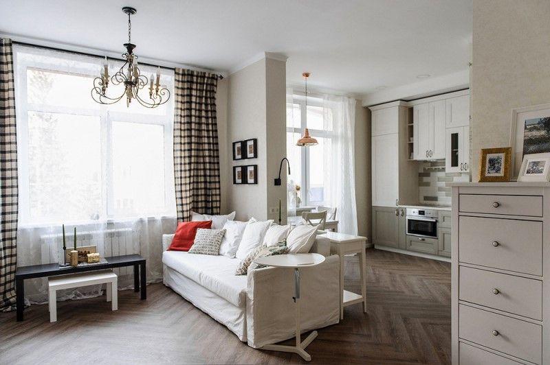 Однокомнатные квартиры 38-39 метров: дизайн, перепланировка