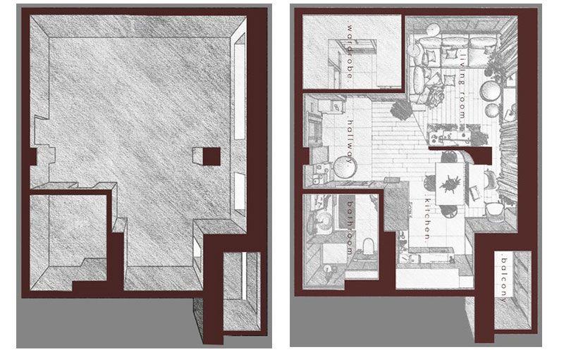 Одновкомнатные квартиры 40-42 квадратных метра