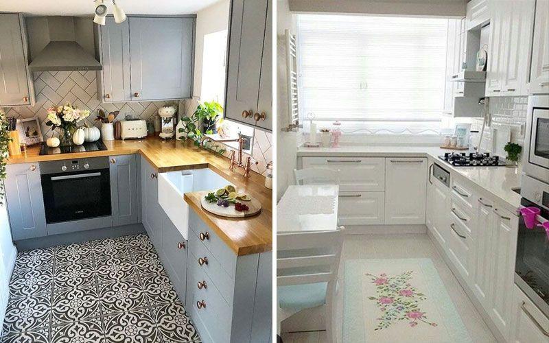 Кухни угловые на 9 кв.метрах: дизайн и планировка (+50 фото идей)