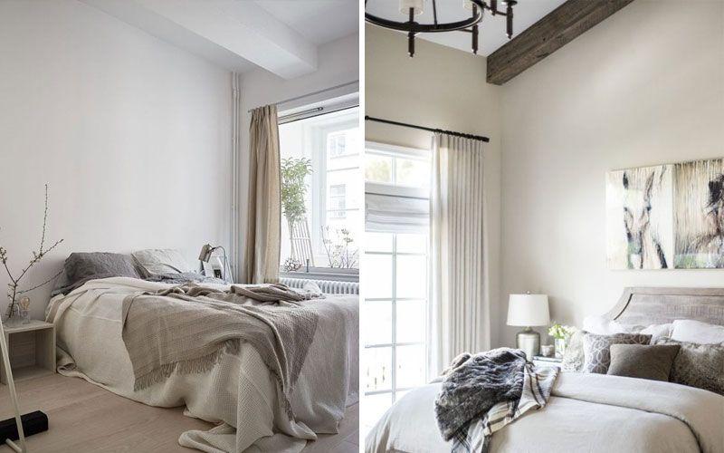 декоративные балки на потолке в спальне