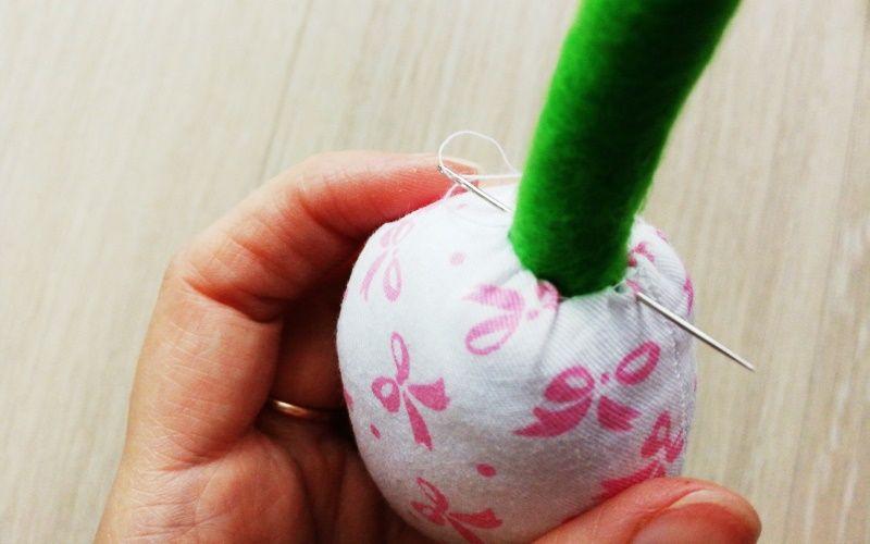 Как сшить текстильные тюльпаны для интерьера своими руками: выкройка + пошаговый мастер-класс