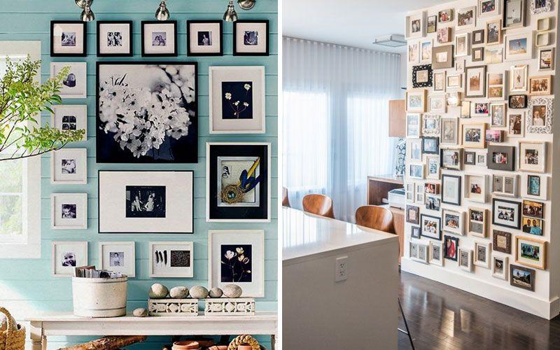 Коллаж из картин на стену: как сделать своими руками, идеи и фото в интерьере
