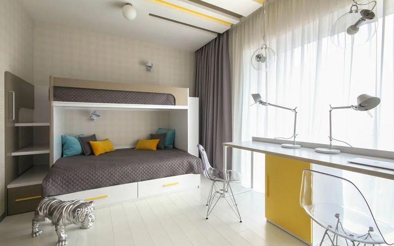 Комната для мальчиков - интерьер и дизайн