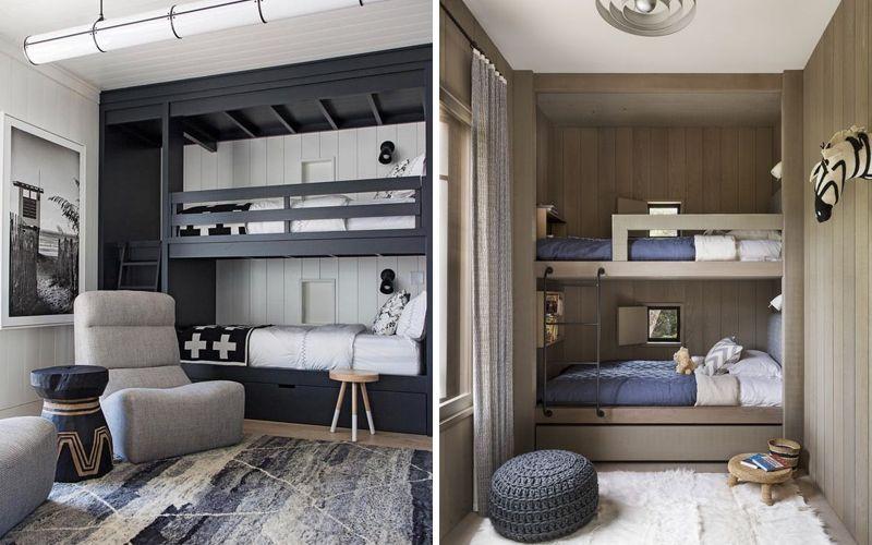 Интерьер комнаты для двух мальчиков