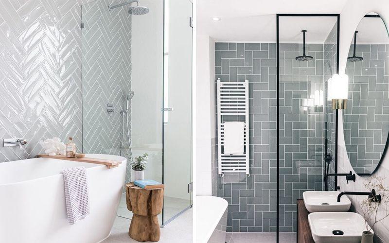 Серый кабанчик в ванной