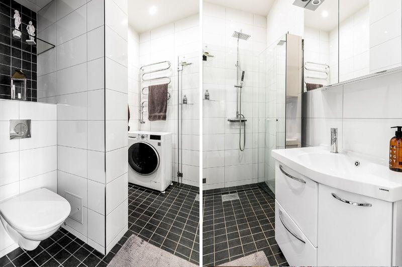 Интересный европейский дизайн 2-комнатной квартиры 57 метров