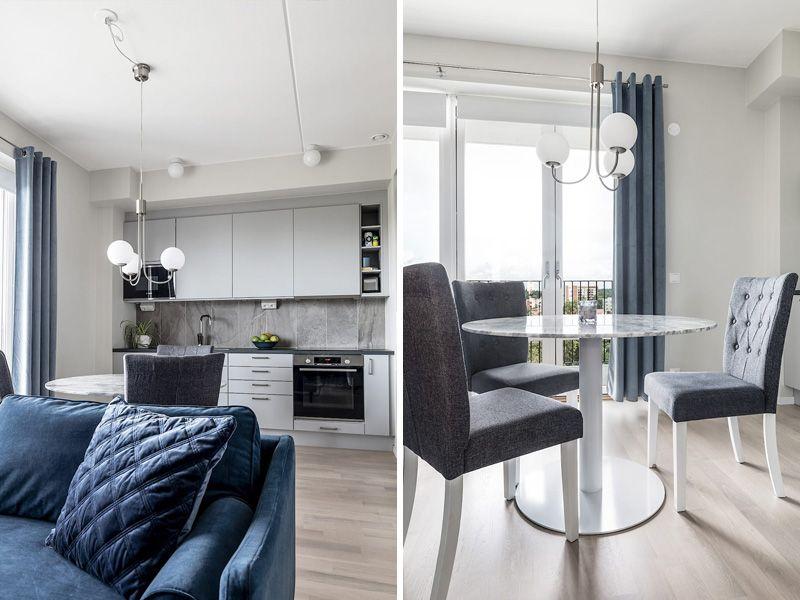 Маленькая уютная квартира в Эскильстуне (Швеция): фото-обзор