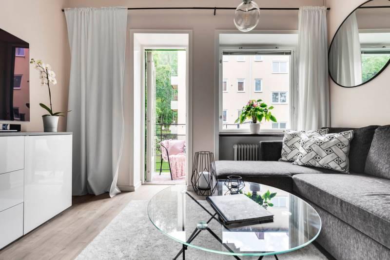 Небольшая однокомнатная квартира площадью 30 метров