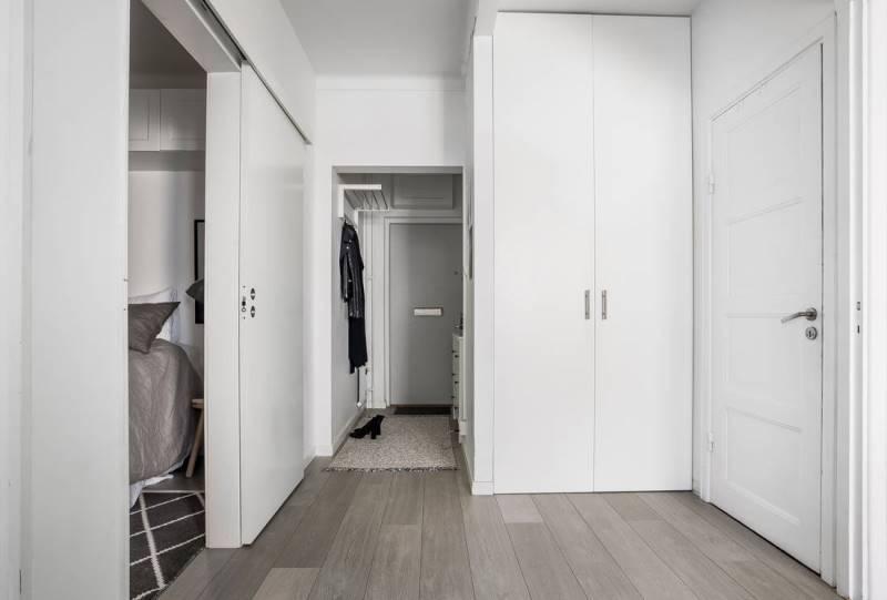 Дизайн квартиры-студии площадью 32 метра в Швеции