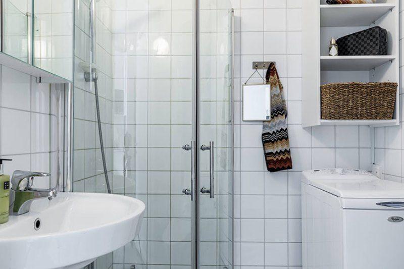 Квартира-малютка в Стокгольме 26 метров