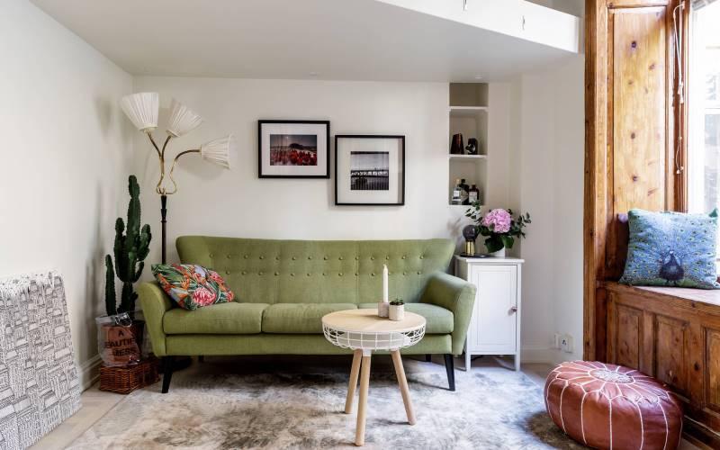 Квартира-студия 24 метра в Швеции