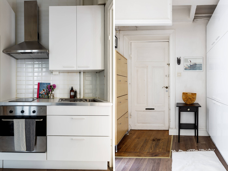 Квартира-студия площадью 24 метра в Швеции