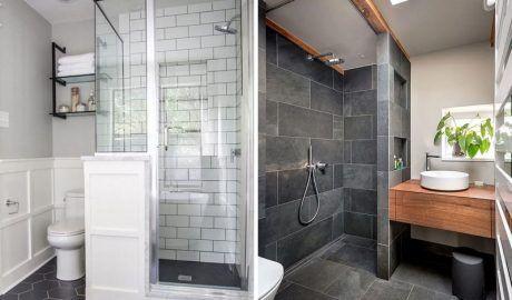 Как визуально увеличить ванную комнату: советы и хитрости