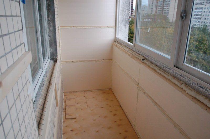 Пенопласт для утепления балкона