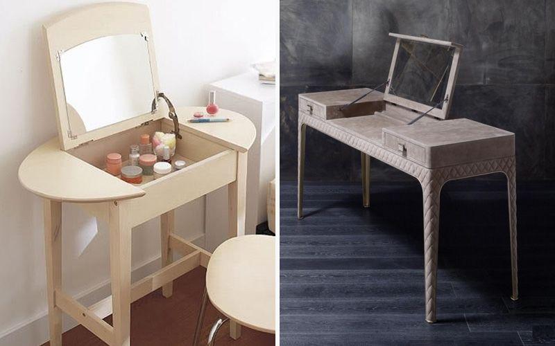 Консоль-столик с крышкой-зеркалом
