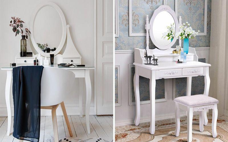 Туалетный столик с поворотным зеркалом