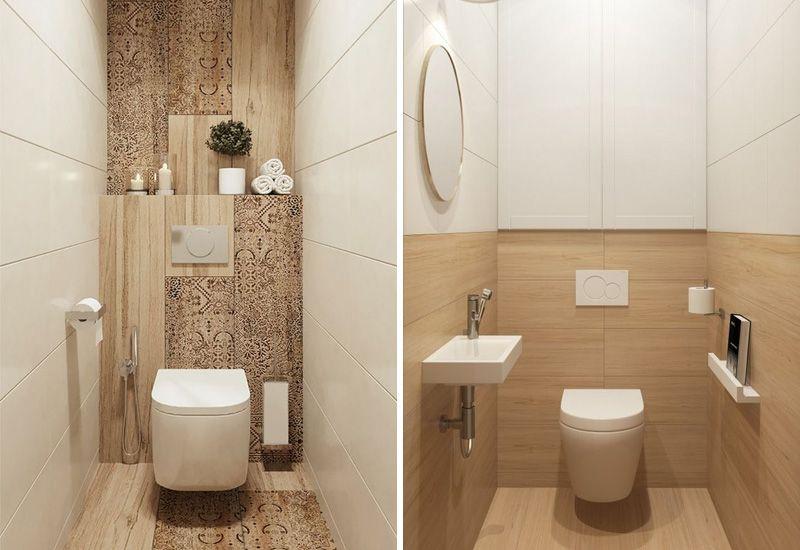 Современный дизайн интерьера в туалете в хрущевке: 80+ фото идей
