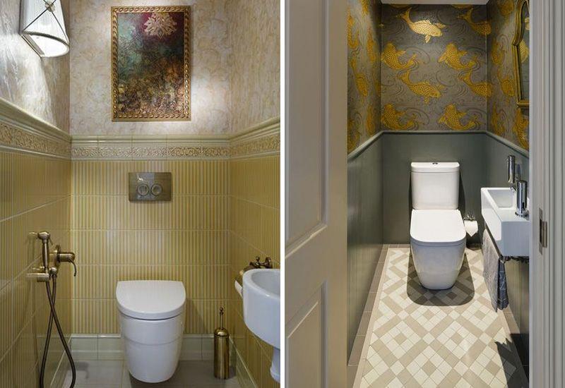 Туалет в хрущевке дизайн интерьера
