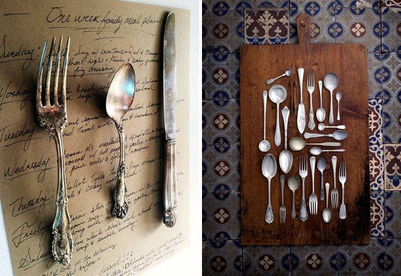 Что повечить над столом в кухню