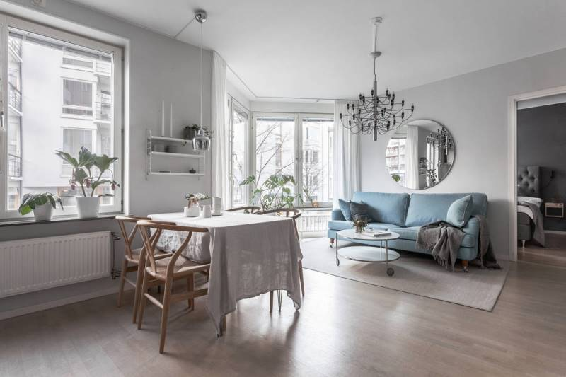 Дизайн двухкомнатной квартиры - 1 проект