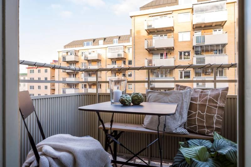 Двухкомнатная квартира 46 метров - дизайн и планировка - 3