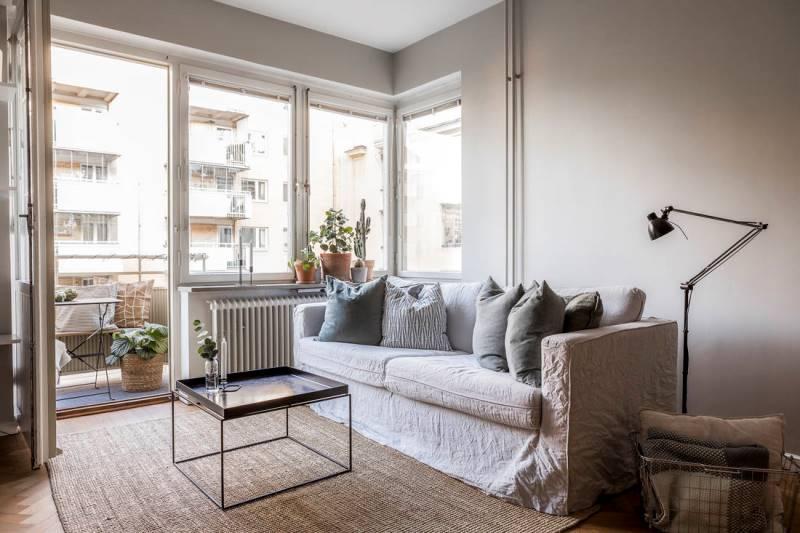 Двухкомнатная квартира 46 метров - дизайн и планировка - 4