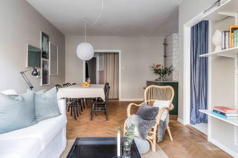 Двухкомнатная квартира 46 метров - дизайн и планировка - 5