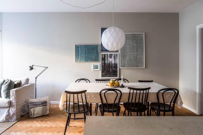 Двухкомнатная квартира 46 метров - дизайн и планировка - 8