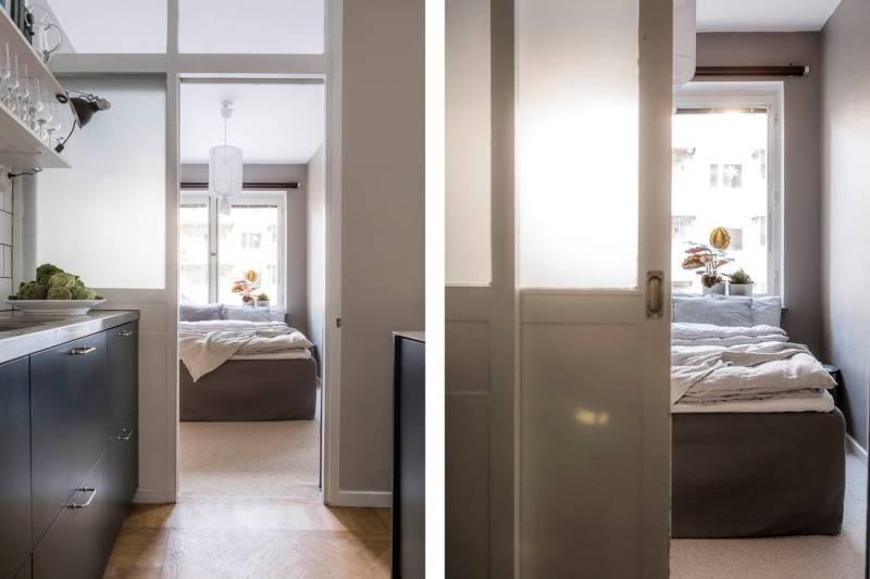 Двухкомнатная квартира 46 метров - дизайн и планировка - 9