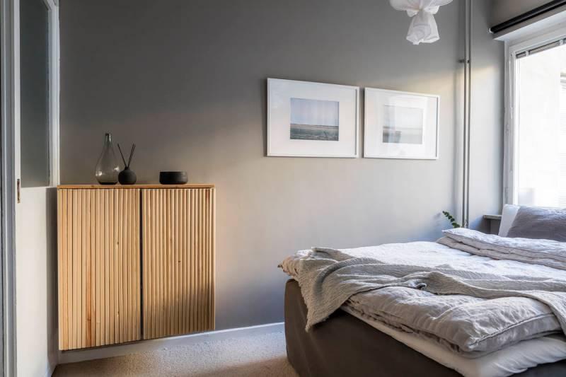 Двухкомнатная квартира 46 метров - дизайн и планировка - 11