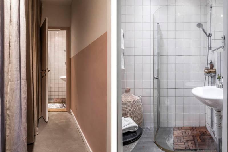 Двухкомнатная квартира 46 метров - дизайн и планировка - 14