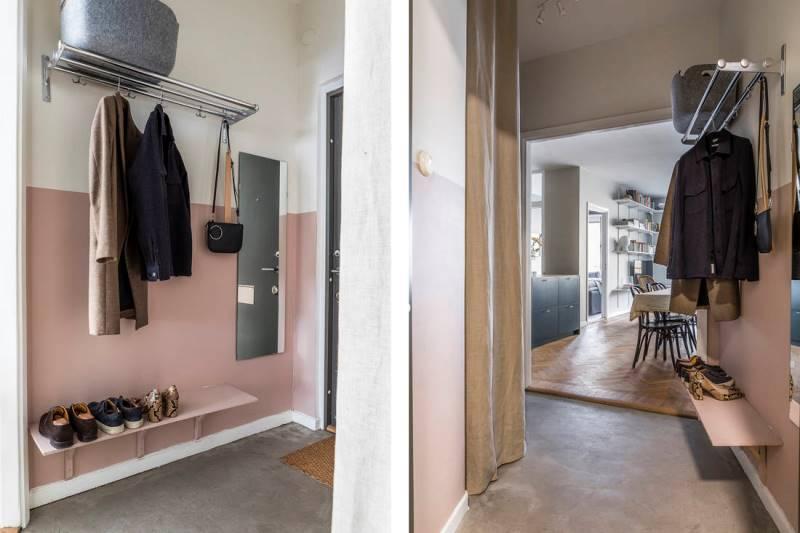 Двухкомнатная квартира 46 метров - дизайн и планировка - 16