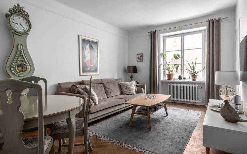 Проект дизайна двухкомнатной квартиры 46 метров - 2