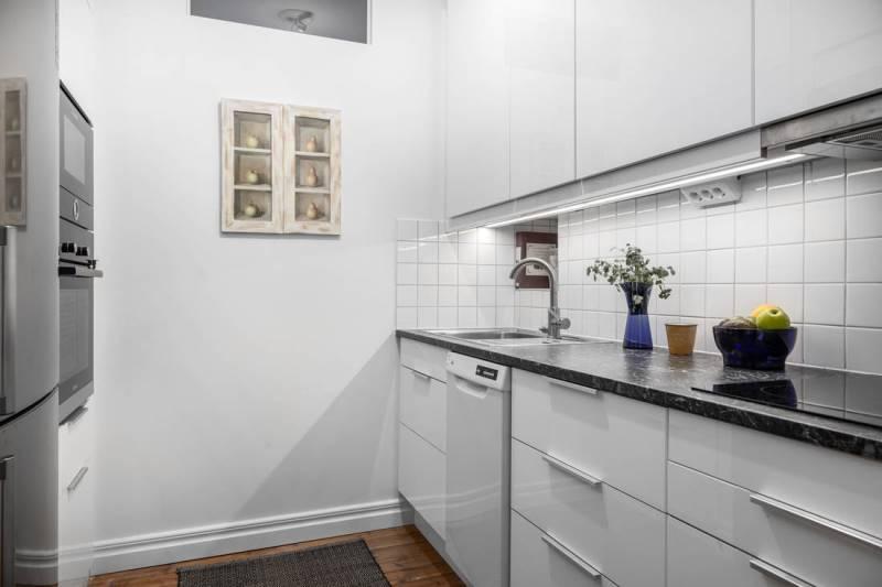 Проект дизайна двухкомнатной квартиры 46 метров - 7