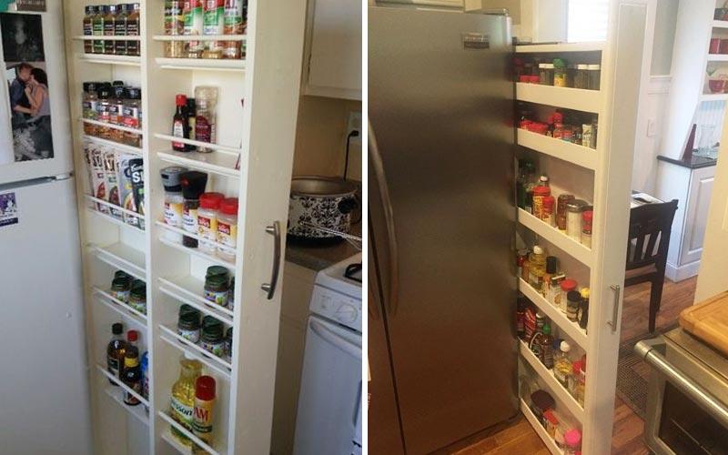 Удобные места хранения на кухне -1