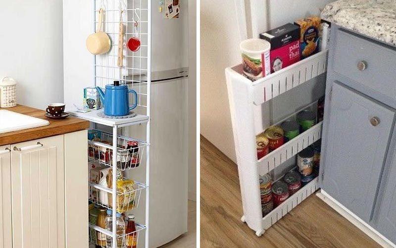 Удобные места хранения на кухне-2