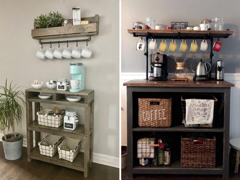 Удобные места хранения на кухне - 7