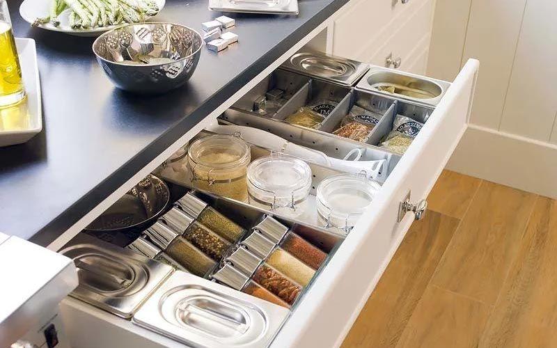 Организация хранения на кухне с фото