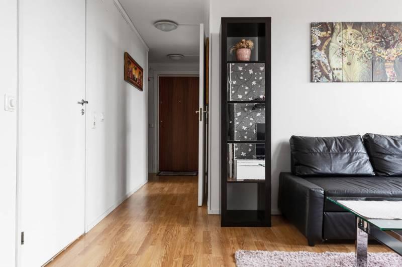 Дизайн двушки площадью 46 метров в скандинавском минимализме - 6
