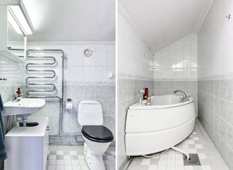 Дизайн двушки площадью 46 метров в скандинавском минимализме - 11