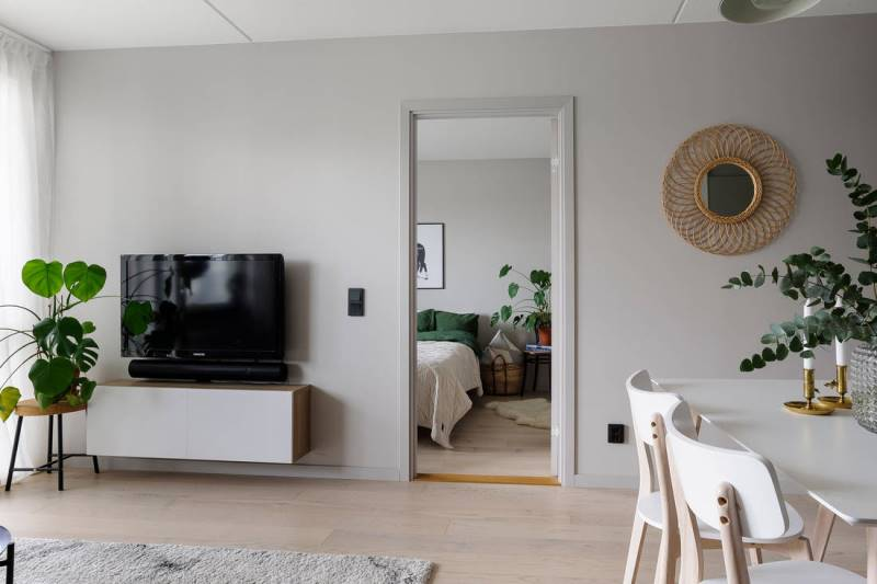 Скандинавский минимализм в двушке площадбю 46 метров - 4