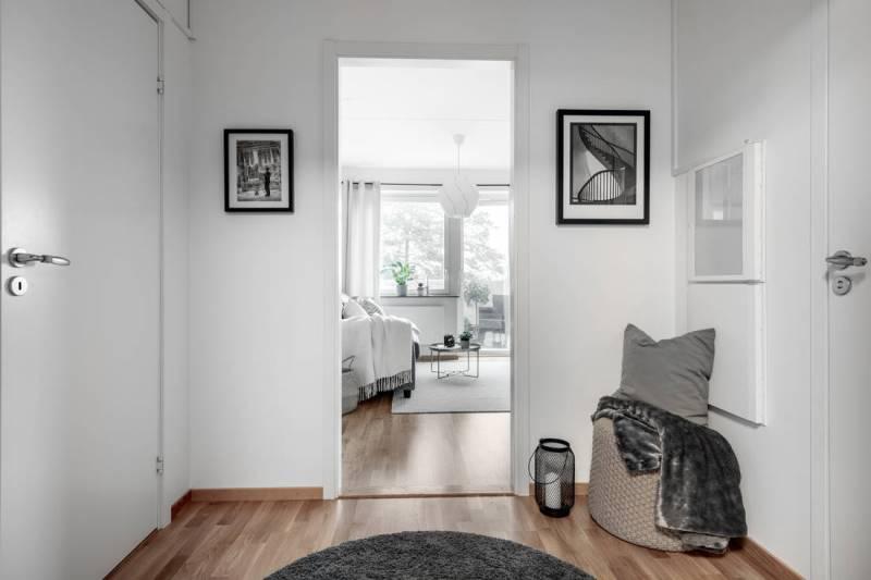 Двухкомнатная квартира в скандинавском стиле 46 метров - 7